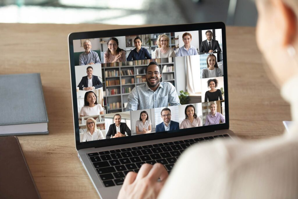 global business virtual meeting
