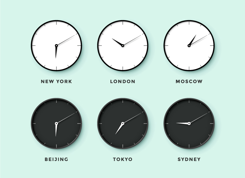 keeping track of global time