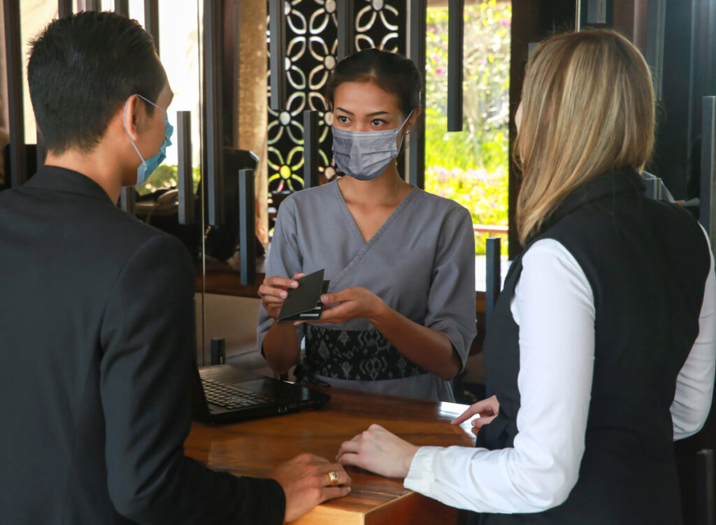 masked safety customer service
