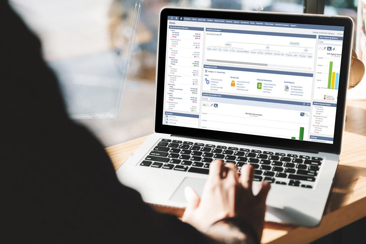 NetSuite online accounting platform